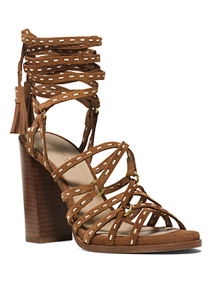 MICHAEL KORS COLLECTION Rowan Suede Sandal