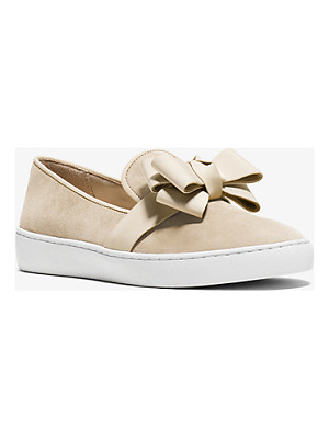 Michael Kors Collection Val Suede Slip-On Sneaker
