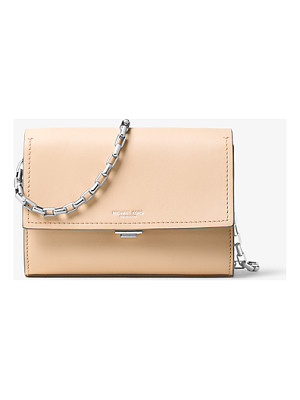 MICHAEL KORS COLLECTION Yasmeen Small Leather Clutch