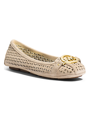Michael Kors Fulton Perforated Suede Moccasin