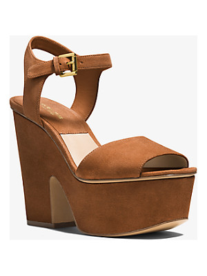 MICHAEL KORS COLLECTION Harley Suede Sandal