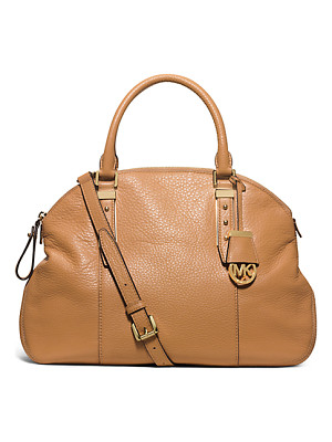 MICHAEL KORS Bowery Large Leather Shoulder Bag