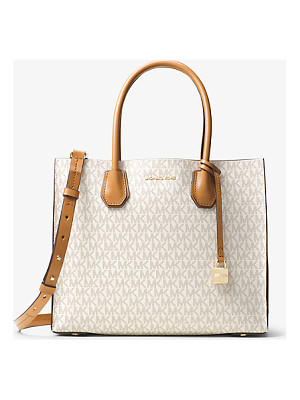 MICHAEL KORS Mercer Large Logo Tote