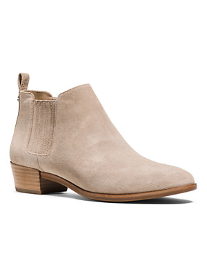 Michael Kors Shaw Suede Ankle Boot