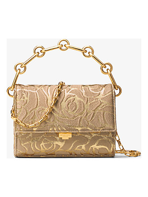 MICHAEL KORS Yasmeen Small Rose Jacquard Clutch