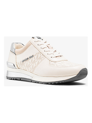 MICHAEL MICHAEL KORS Allie Logo Leather Sneaker