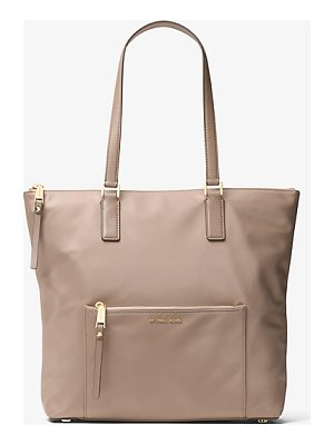 MICHAEL MICHAEL KORS Ariana Large Nylon And Leather Tote