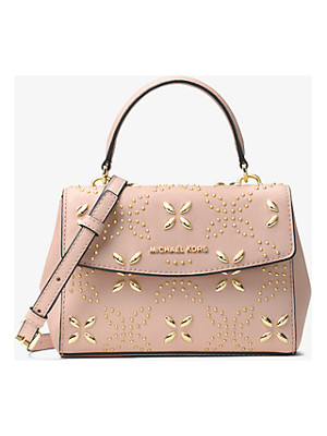 MICHAEL MICHAEL KORS Ava Extra-Small Floral Studded Crossbody
