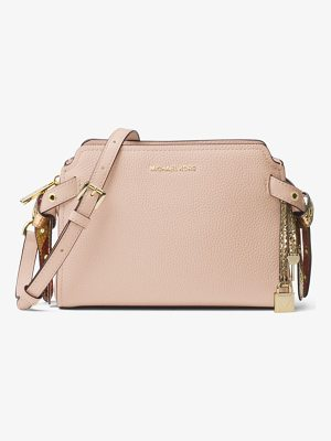 MICHAEL MICHAEL KORS Bristol Leather Messenger