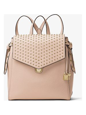 MICHAEL MICHAEL KORS Bristol Medium Studded Leather Backpack