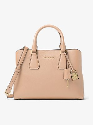 MICHAEL MICHAEL KORS Camille Leather Satchel