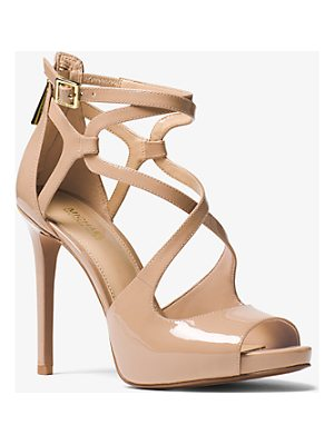 MICHAEL Michael Kors Catia Patent Leather Sandal