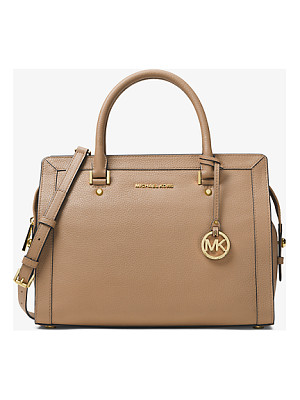 MICHAEL MICHAEL KORS Collins Large Leather Satchel