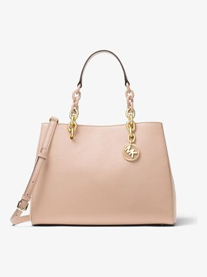 MICHAEL MICHAEL KORS Cynthia Saffiano Leather Satchel