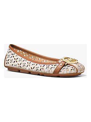 MICHAEL MICHAEL KORS Fulton Perforated Logo Moccasin