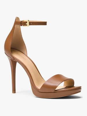 MICHAEL MICHAEL KORS Hutton Leather Sandal