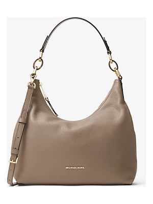 MICHAEL MICHAEL KORS Isabella Large Leather Shoulder Bag