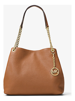 MICHAEL MICHAEL KORS Jet Set Large Leather Shoulder Bag