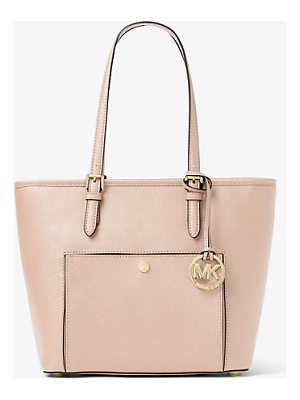 MICHAEL MICHAEL KORS Jet Set Travel Medium Leather Tote