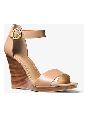 MICHAEL MICHAEL KORS Lena Leather Wedge