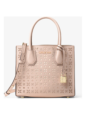 MICHAEL MICHAEL KORS Mercer Perforated Leather Crossbody