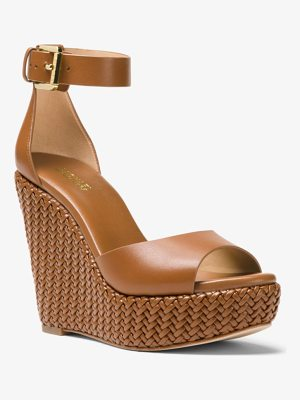 MICHAEL MICHAEL KORS Mika Leather Wedge