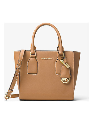 MICHAEL Michael Kors Selby Medium Leather Messenger
