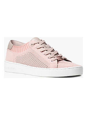 MICHAEL Michael Kors Skyler Leather And Knit Sneaker