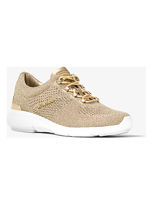 MICHAEL Michael Kors Skyler Metallic Knit Trainer