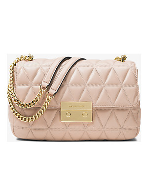 MICHAEL MICHAEL KORS Sloan Large Quilted-Leather Shoulder Bag