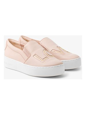 MICHAEL Michael Kors Trent Love Leather Slip-On Sneaker