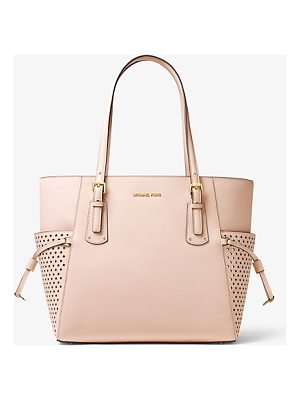 MICHAEL MICHAEL KORS Voyager Small Saffiano Leather Tote