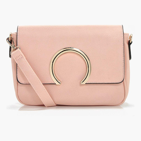 BOOHOO Abbie Metal Ring Cross Body - Add attitude with accessories for those fashion-forward...