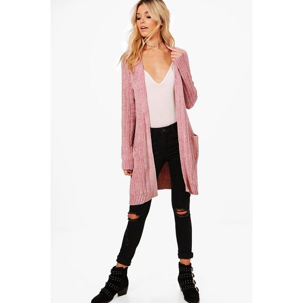 BOOHOO Alexandra Chenille Slouchy Cardigan - For ultimate cosy vibes, you can't go wrong with a...