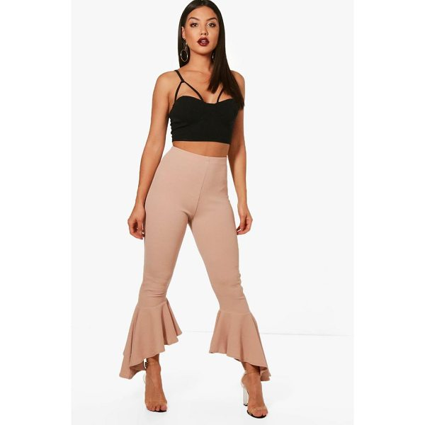 BOOHOO Alice Ruffle Hem Trouser - Trousers are a more sophisticated alternative to...