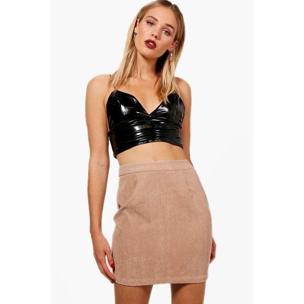 BOOHOO Alison Basic Chunky Cord Mini Skirt - Skirts are the statement separate in every wardrobe This...