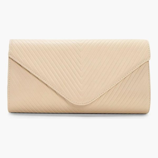 BOOHOO Amy Quilted Clutch - Add attitude with accessories for those fashion-forward...