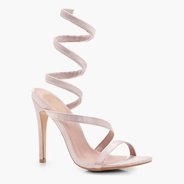 BOOHOO Angel Spiral Strap Sandals - We'll make sure your shoes keep you one stylish step ahead...