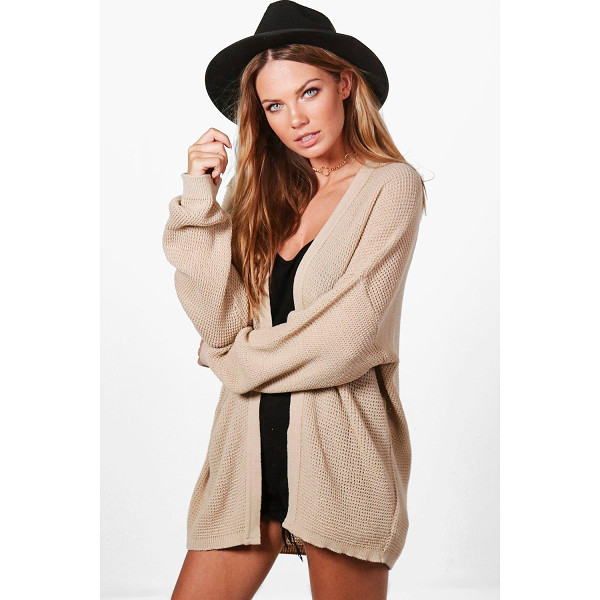 BOOHOO Anna Batwing Cardigan - Nail new season knitwear in the jumpers and cardigans that...