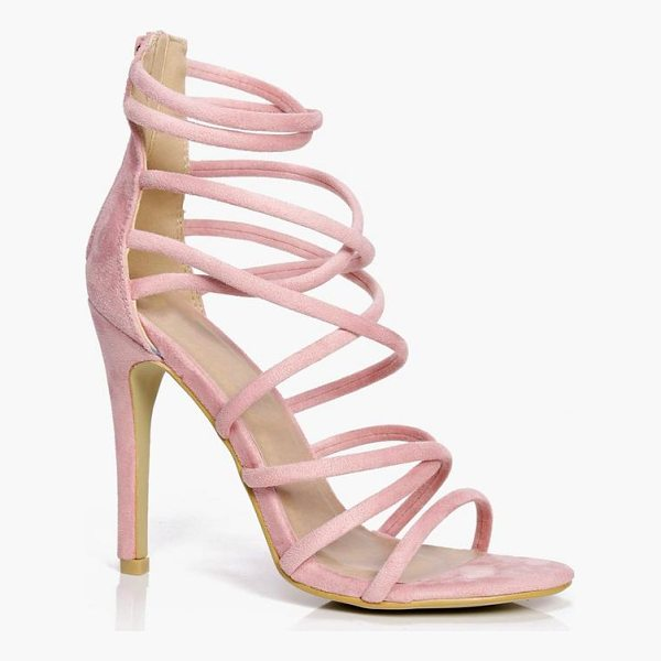 BOOHOO Anna Cross Strap Heels - We'll make sure your shoes keep you one stylish step ahead...