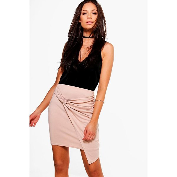 BOOHOO Aurellia Rouched Side Mini Skirt - Skirts are the statement separate in every wardrobe This...