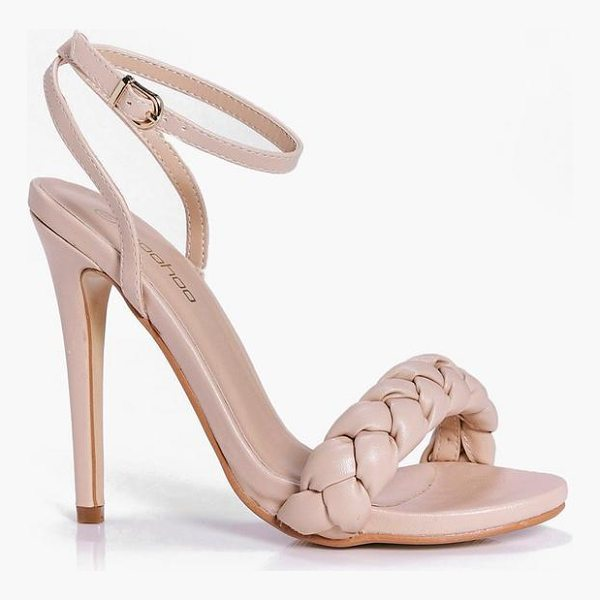 BOOHOO Betsy Plait Front Two Part Sandal - We'll make sure your shoes keep you one stylish step ahead...