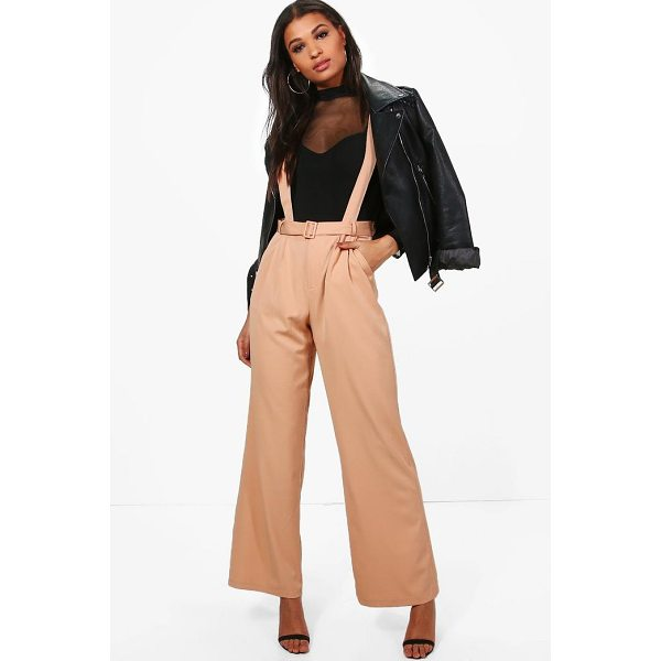 BOOHOO Blake Tailored Self Belt Relaxed Trousers - Trousers are a more sophisticated alternative to...