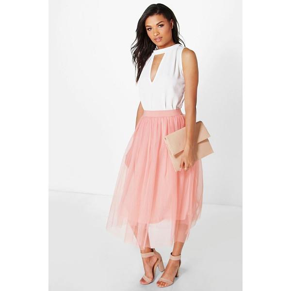 BOOHOO Boutique Aya Tulle Full Midi Skirt - Skirts are the statement separate in every wardrobe This...