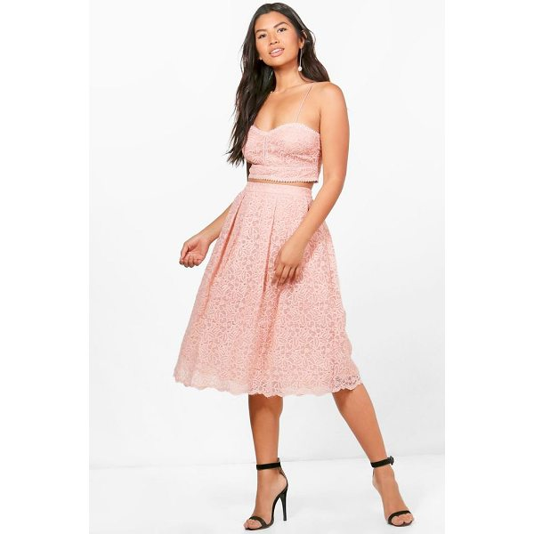 BOOHOO Boutique Jemma Embroidered Skirt Co-ord - Co-ordinates are the quick way to quirky this seasonMake...