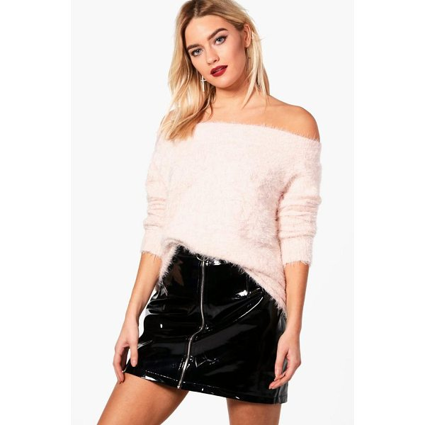 BOOHOO Charlotte Soft Knit Bardot Jumper - Nail new season knitwear in the jumpers and cardigans that...