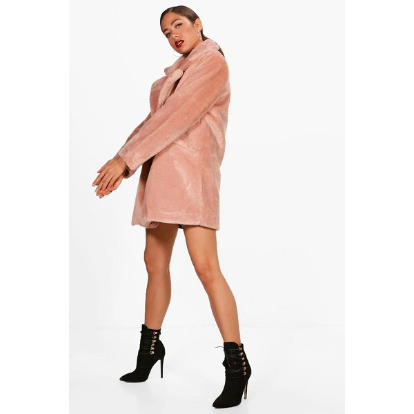 BOOHOO Chelsea Faux Fur Coat - Wrap up in the latest coats and jackets and get out-there...