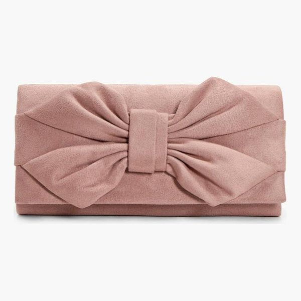 BOOHOO Daisy Bow Clutch - Add attitude with accessories for those fashion-forward...