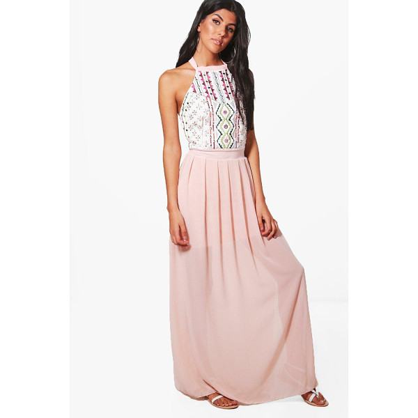BOOHOO Danni Embellished Maxi Dress - Dresses are the most-wanted wardrobe item for day-to-night...