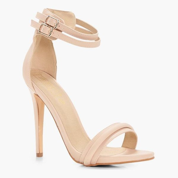 BOOHOO Darcy Double Ankle Band 2 Part Heels - We'll make sure your shoes keep you one stylish step ahead...